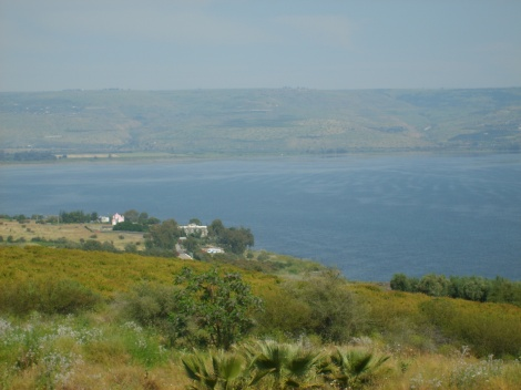 The actual location of the mount of beatitudes in Israel.