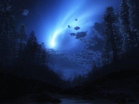 a-light-in-the-darkness-sky-wallpapers