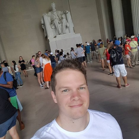 Me at the Lincoln Memorial